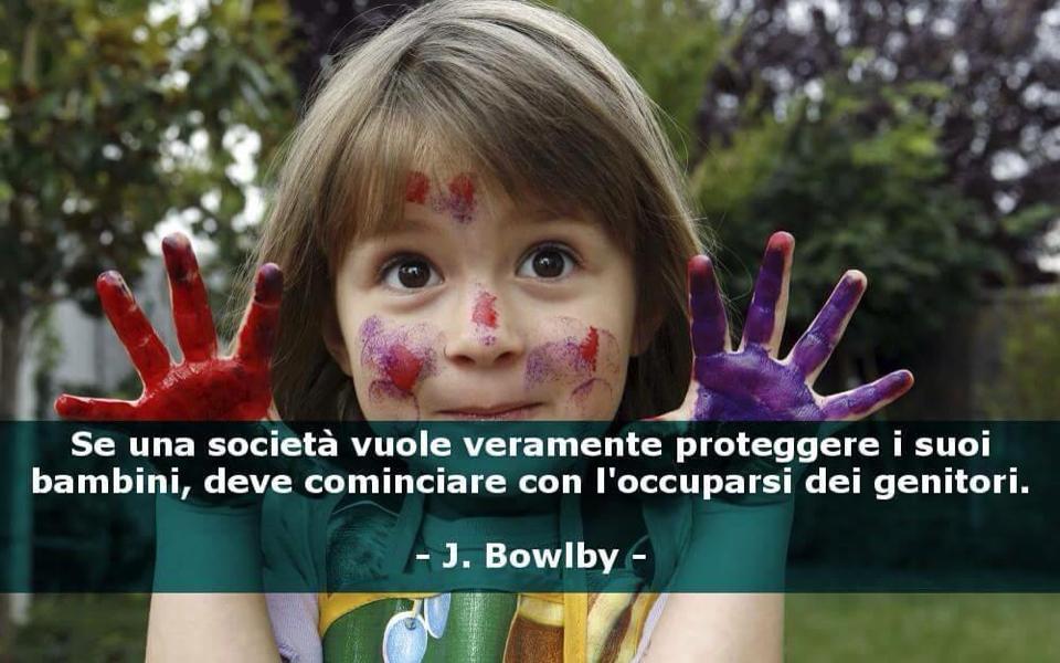 bambini genitori Bowlby